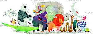 Пазл Djeco «Парад животных», DJ07171, отзывы