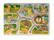 Пазл-головоломка goki «Животные», 57749, отзывы