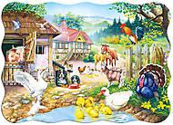 Лицензия Пазл на 30 деталей «Ферма», 313л