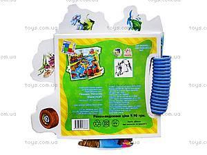 Детская книга-пазлы «Транспорт», А16994У, купить