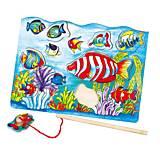 Пазл магнитный Viga Toys «Рыбалка», 58423