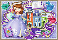 Пазл-меморика Ravensburger Disney «София» 3в1 , 07358R, фото