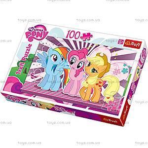 Пазл на 100 деталей «Подружки» серия My Little Pony, 16228