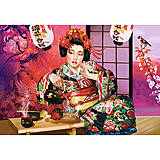 Пазл на 1000 деталей «Чайная церемония Гейши», С-102631