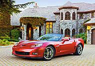 Пазл на 1000 деталей «Chevrolet Corvette GS Convertible», С-102303, фото