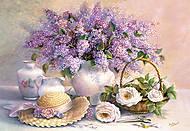 Пазл на 1000 деталей «Цветочный день», С-102006