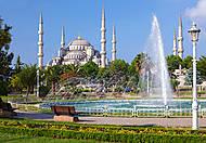 Пазл на 1000 деталей «Голубая мечеть, Стамбул», С-102419