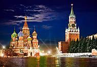 Пазл на 1000 деталей «Красная Площадь, Москва», С-101788