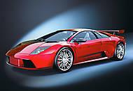 Пазл на 1000 деталей «Lamborghini Murcielago», С-101368