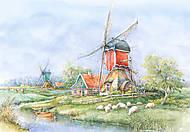 Пазл на 1000 деталей «Ландшафты Голландии», С-102679