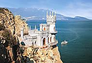 Пазл на 1000 деталей «Ласточкино гнездо, Крым», С-101160, купить