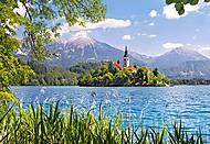 Пазл на 1000 деталей «Местечко Блед, Словения», С-101948