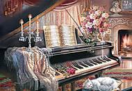 Пазл на 1000 деталей «Музыкальный салон», С-102648, купить