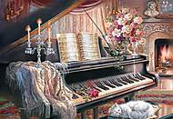 Пазл на 1000 деталей «Музыкальный салон», С-102648