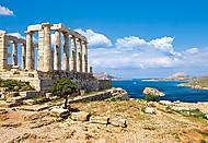 Пазл на 1000 деталей «Мыс Солнечный, Греция», С-101900