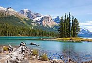 Пазл на 1000 деталей «Озеро, Канада», С-102020