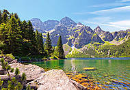 Пазл на 1000 деталей «Озеро Морское Око, Польша», С-102235