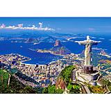 Пазл на 1000 деталей «Рио-де-Жанейро, Бразилия», С-102846