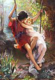 Пазл на 1000 деталей «Ромэо и Джульетта», С-101641, купить