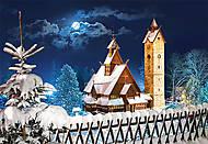 Пазл на 1000 деталей «Сельский Костёл, Польша», С-102112