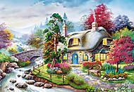 Пазл на 1000 деталей «Сказочный домик», С-101047, купить