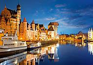 Пазл на 1000 деталей «Старый порт, Гданськ, Польша», С-102327