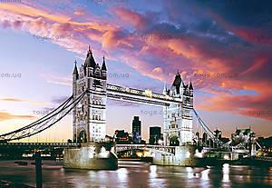 Пазл на 1000 деталей «Тауэрский мост, Лондон», С-101122