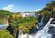 Пазл на 1000 деталей «Водопад Игуасу, Аргентина», С-101917