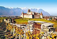 Пазл на 1000 деталей «Замок Aigle, Швейцария», С-101924