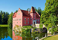 Пазл на 1000 деталей «Замок Cervena Lotha, Чехия», С-102136