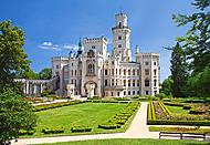 Пазл на 1000 деталей «Замок Hluboka, Чехия», С-102167, купить