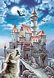Пазл на 1000 деталей «Замок и волк», С-100699, фото