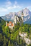 Пазл на 1000 деталей «Замок Нойшванштайн, Германия», С-101825