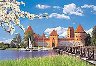 Пазл на 1000 деталей «Замок Тракай, Литва», С-101306