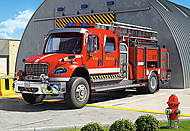 Пазл на 120 деталей MIDI «Пожарная машина», B-12527, фото