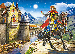 Пазл на 120 деталей MIDI «Рыцарь и принцесса», B-12701