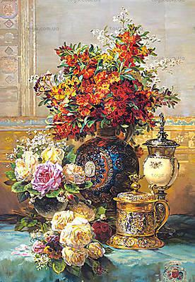 Пазл на 1500 деталей «Цветы на столе, Ж.Б. Робье», C-150571