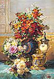 Пазл на 1500 деталей «Цветы на столе, Ж.Б. Робье», C-150571, фото