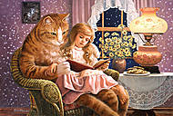 Пазл на 1500 деталей «Домашний кот», C-150960