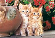 Пазл на 1500 деталей «Котята», C-150267, фото
