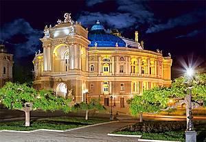 Пазл на 1500 деталей «Оперный театр, Одесса», C-150649