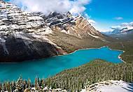 Пазл на 1500 деталей «Озеро Пейто, Нац. парк Банф, Канада», C-150922, фото