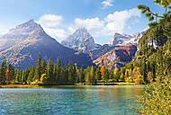 Пазл на 1500 деталей «Озеро в горах», C-150946