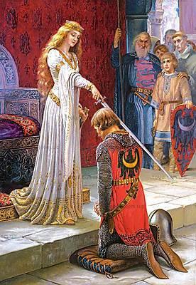 Пазл на 1500 деталей «Посвящение рыцаря», C-150656