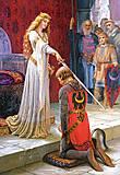 Пазл на 1500 деталей «Посвящение рыцаря», C-150656, фото