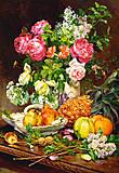 Пазл на 1500 деталей «Розы в вазе», C-151202, купить