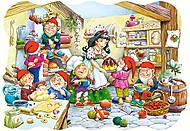 Пазл на 20 деталей Maxi «Белоснежка и семь гномов», C-02207, купить