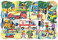 Пазл на 20 деталей Maxi «Оживленный перекресток», C-02238