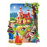 Пазл на 20 деталей Maxi «Прянечный домик», C-02153, отзывы