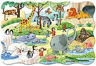 Пазл на 20 деталей Maxi «Зоопарк», C-02221